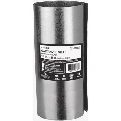 NorWesco 14 In. x 25 Ft. Mill Galvanized Roll Valley Flashing