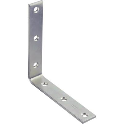 National Catalog 115 6 In. x 1-1/8 In. Zinc Corner Brace