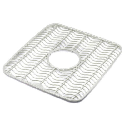 Rubbermaid 11.5 In. x 12.5 In. Clear Sink Mat Protector