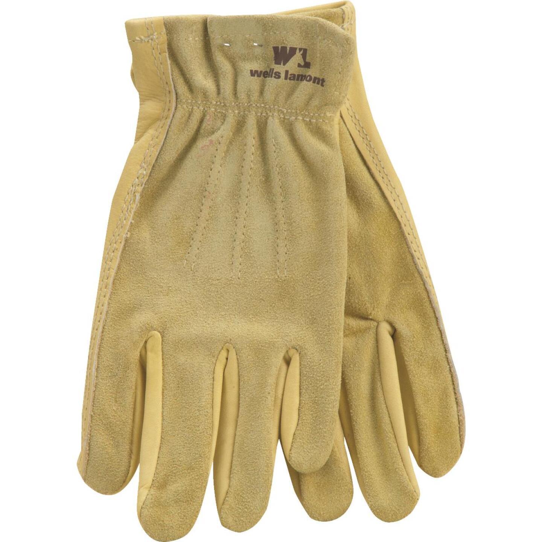 Wells Lamont Women's Medium Grain Cowhide Leather Work Glove Image 1
